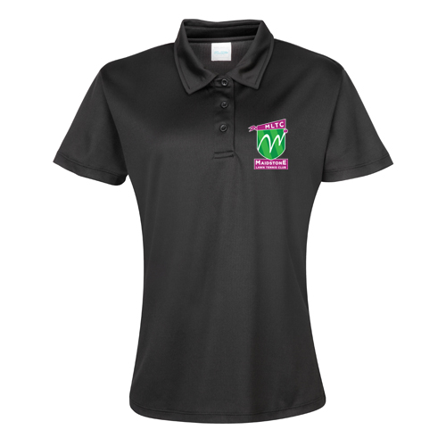 MLTC WOMENS Cool Polo Black