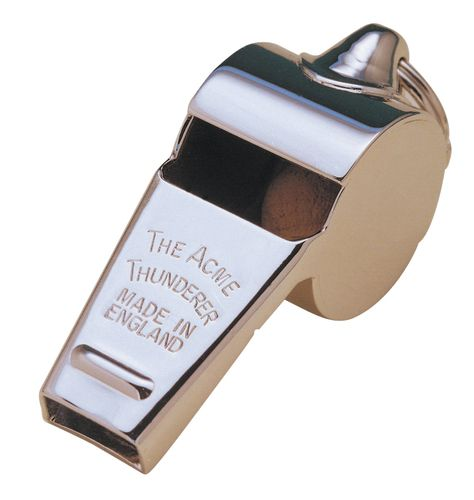 Acme Thunderer Metal Whistle Med 59.5