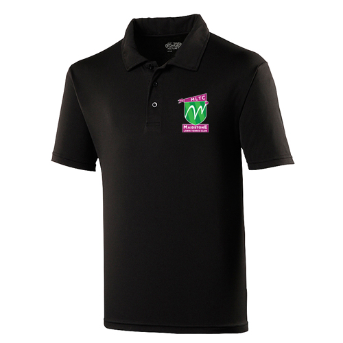 MLTC JNR Cool Polo Black