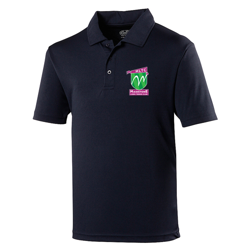 MLTC JNR Cool Polo French Navy