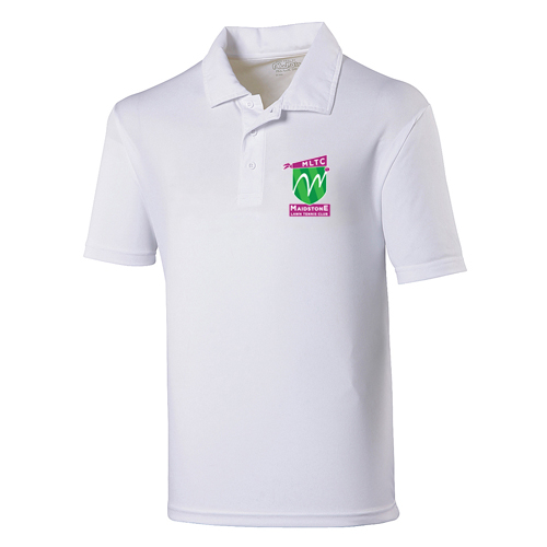 MLTC JNR Cool Polo White