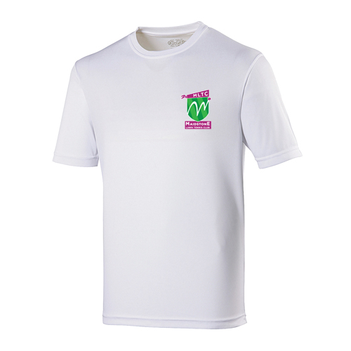 MLTC JNR Cool T-Shirt White