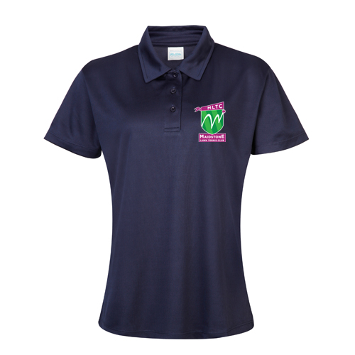 MLTC WOMENS Cool Polo French Navy