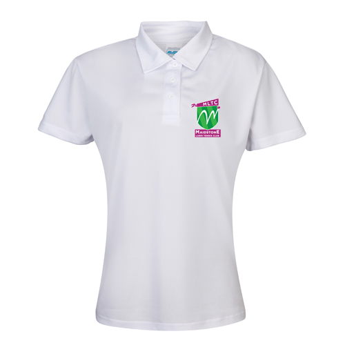MLTC WOMENS Cool Polo White
