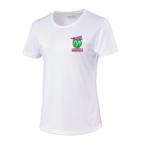 MLTC WOMENS Cool T-Shirt White