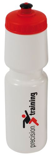 Precision Water Bottle 750ml - White